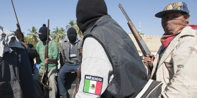 A Civilian Force Opposing A Drug Cartel