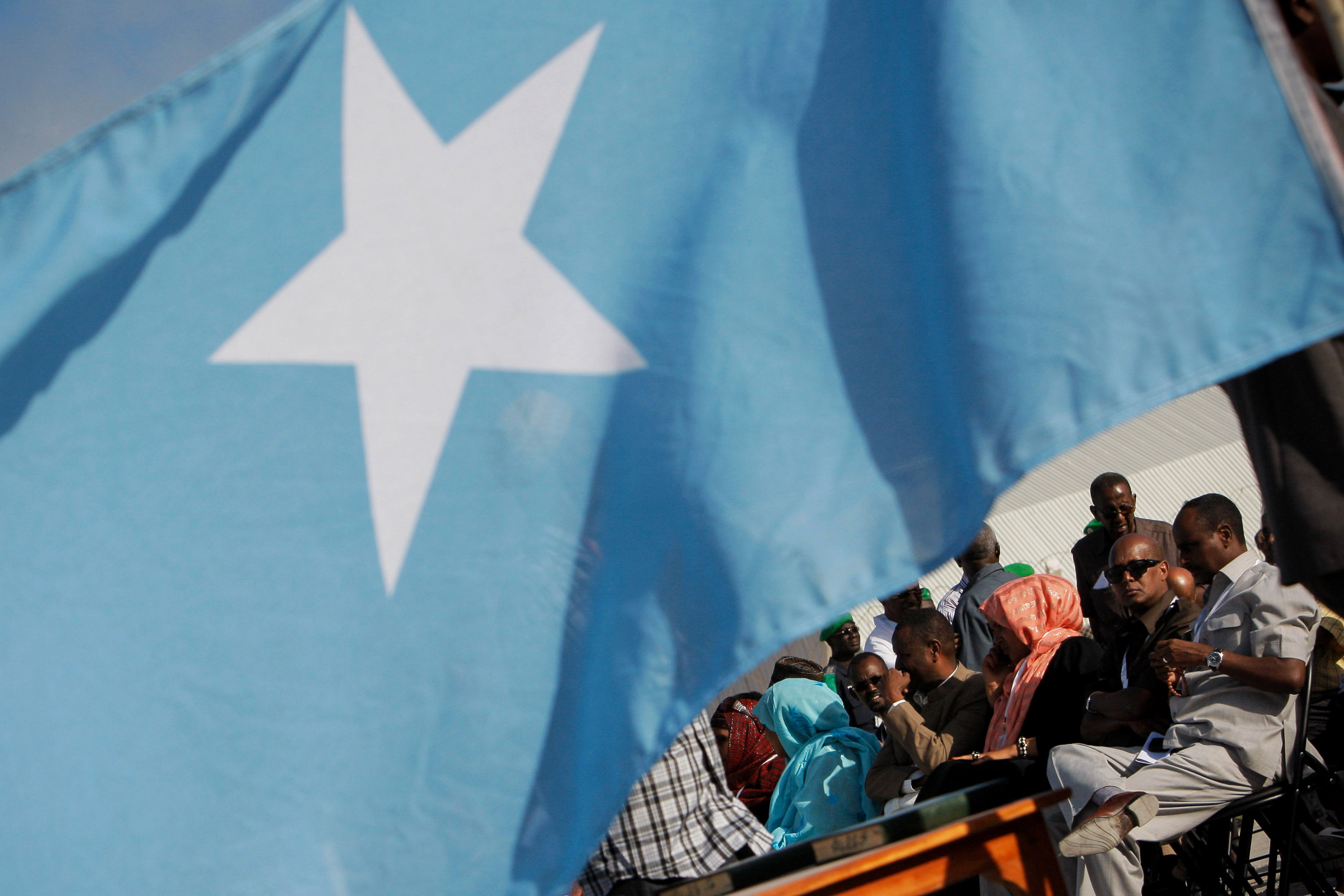 'Democratically' elected Somali President