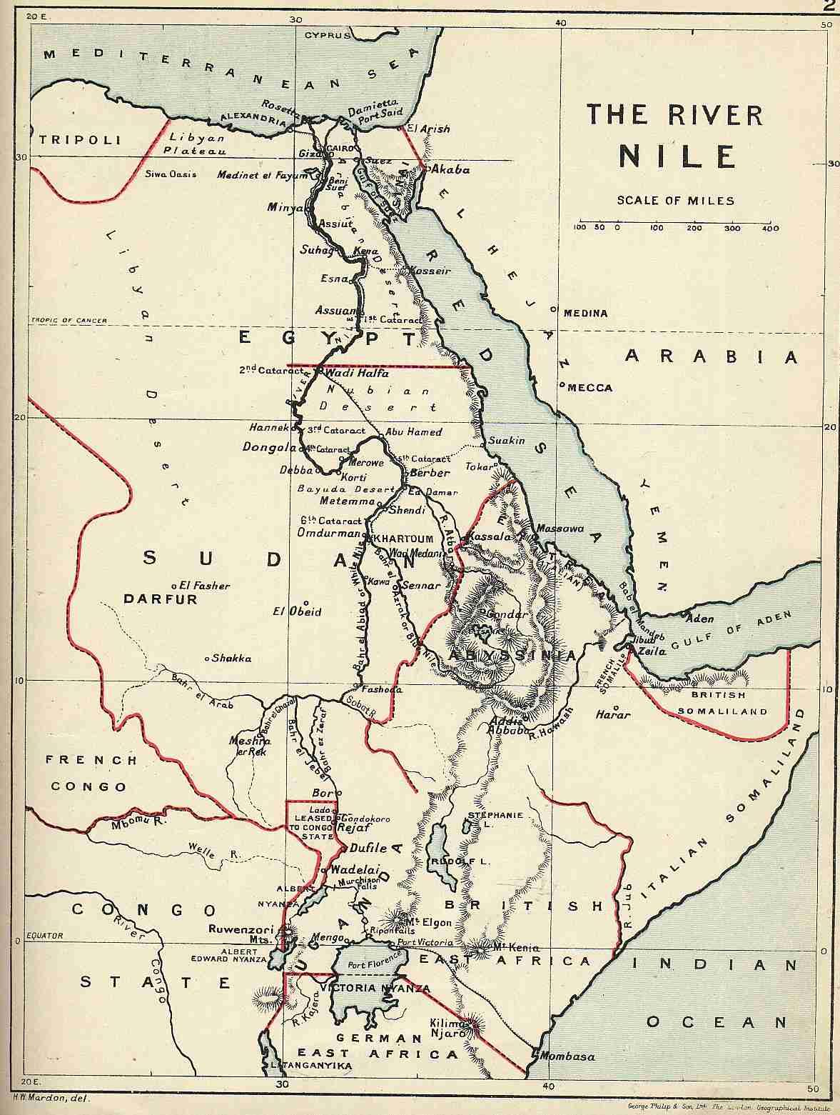 Life of a Diplomat: Bridge Over River Nile