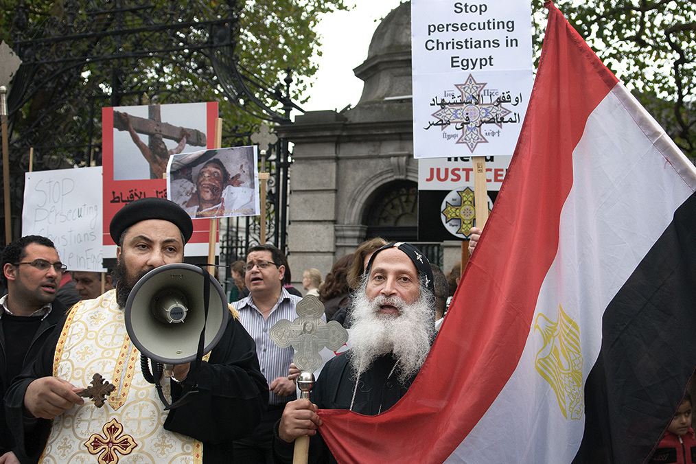 "Coptic Christians Accused of Egypt´s ""Coup d´État"""