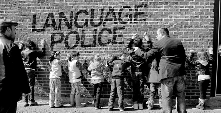 Hands up! It's the Language Police!