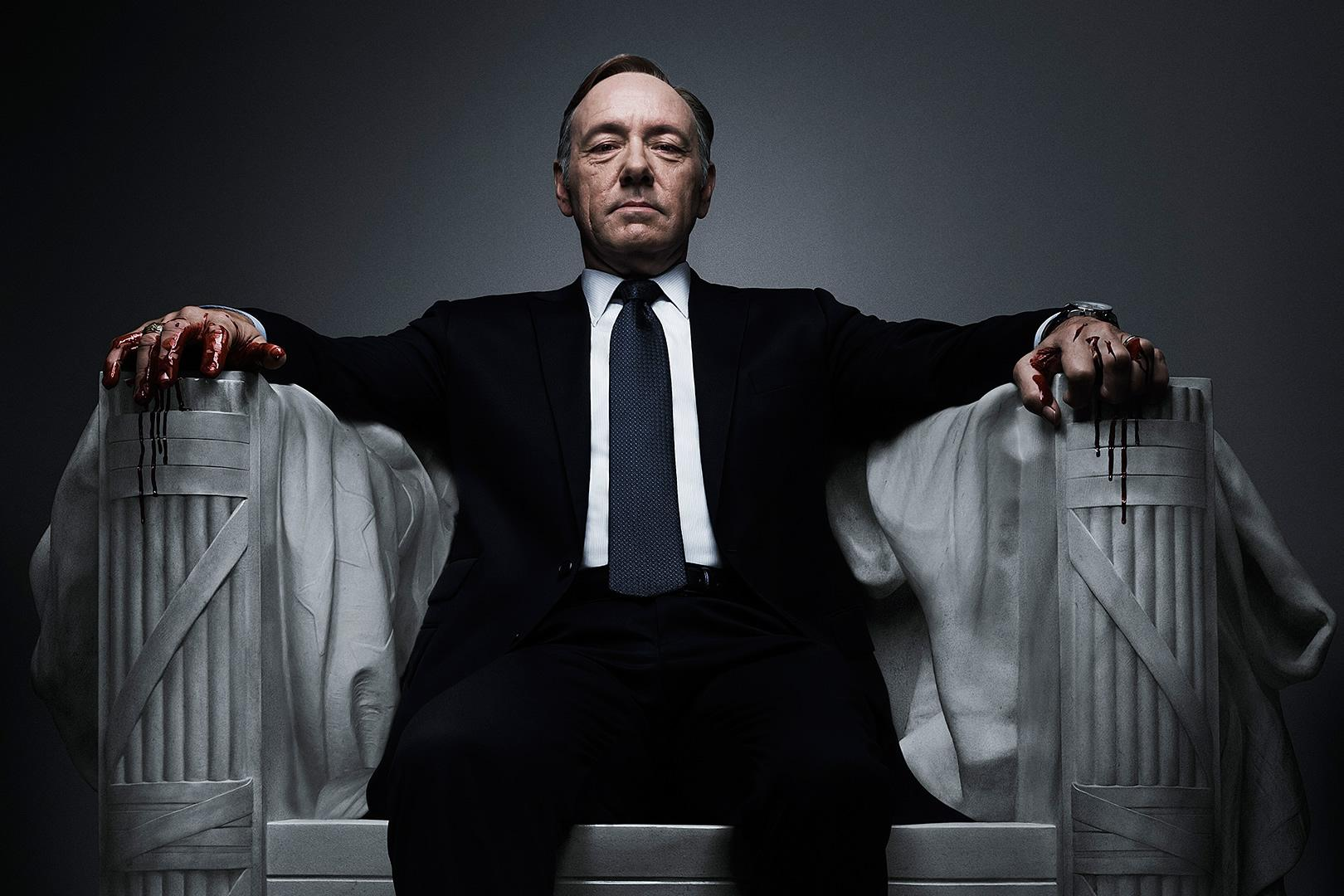 """""""The road to power is paved with hypocrisy, and casualties.""""  – Frank Underwood"""