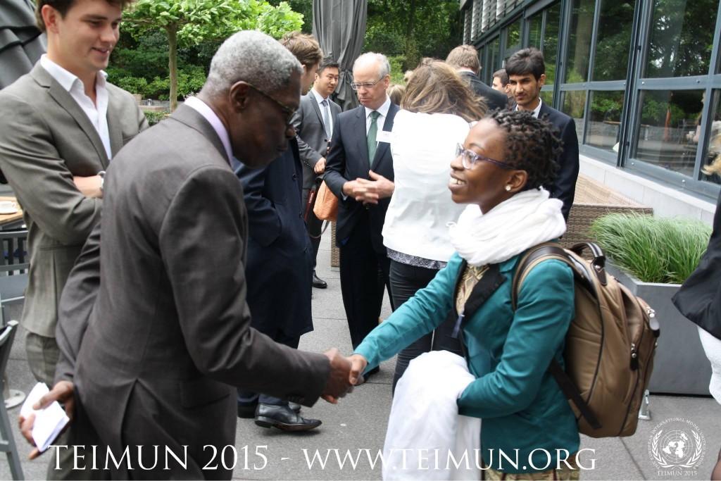 Photo 2 - H. E. Mr Tony Aidoo, Ambassador of Ghana