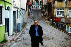 Pamuk and his beloved Istanbul, 2014 (Source: New York Times)