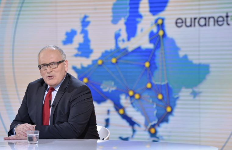 Timmermans, will you save the wolves?