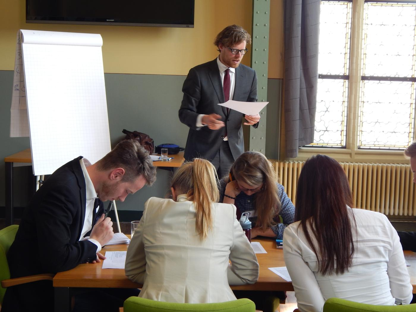 Students Engage with Diplomacy